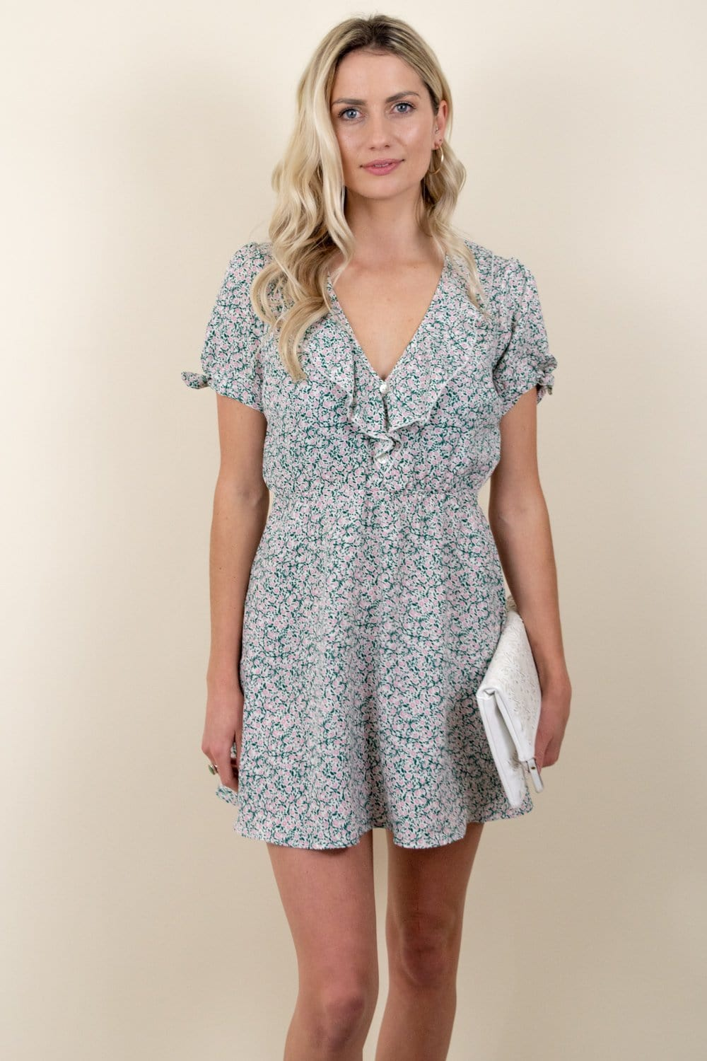 Show Me Your Mumu Natasha Mini Dress Peony Please