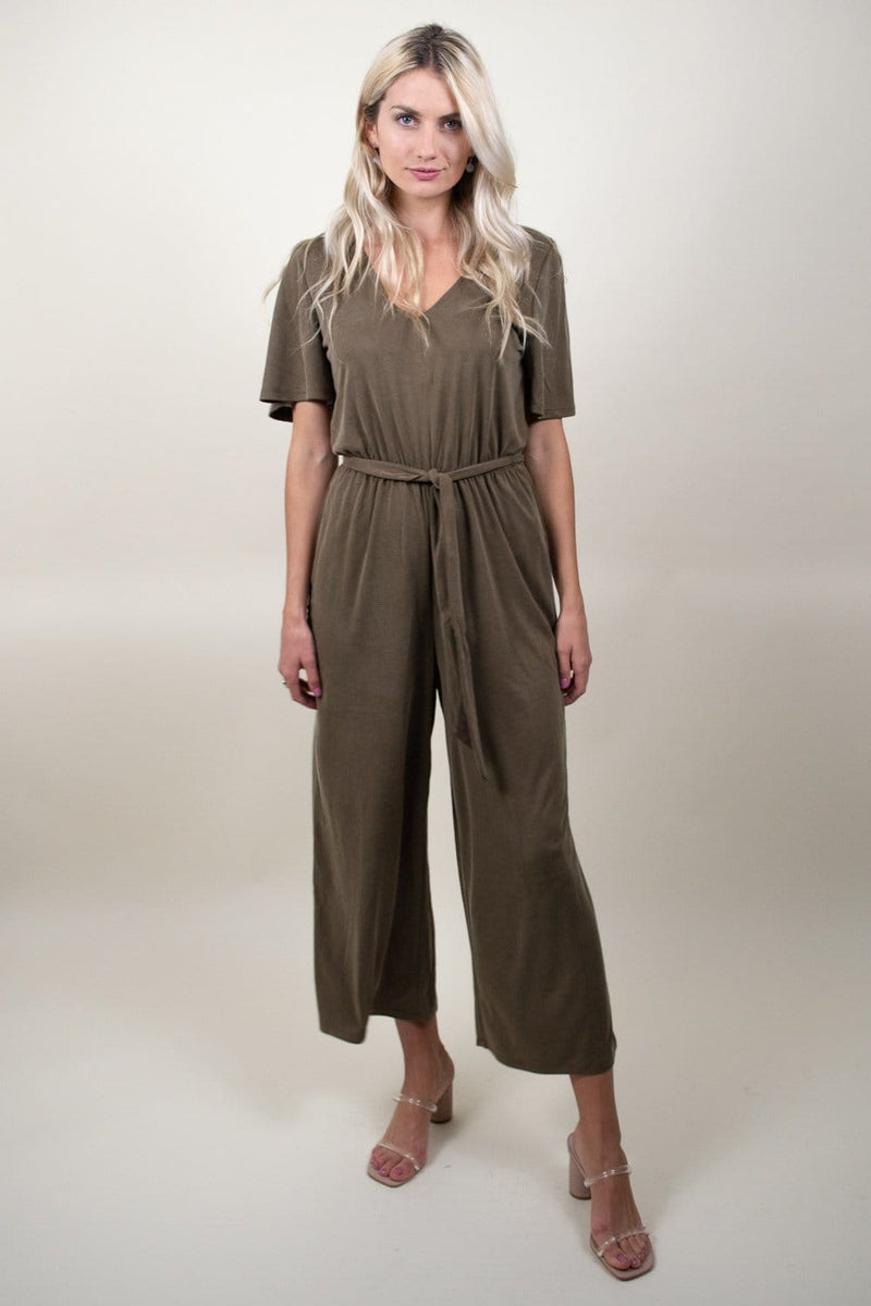 Gentle Fawn Franki Jumpsuit Olive