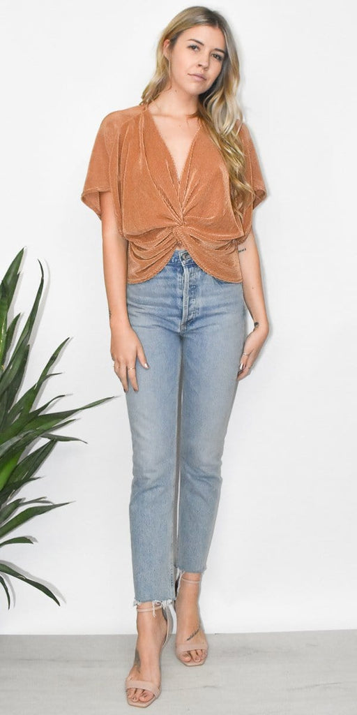 Sage the Label Gia Top in Copper