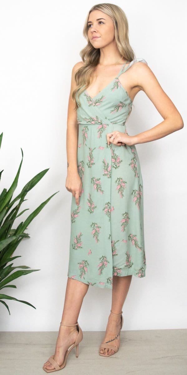 4Si3NNAI Coleen Dress in Desert Sage Floral