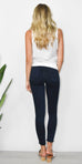 Easy Goes It Leggings in Dark Denim