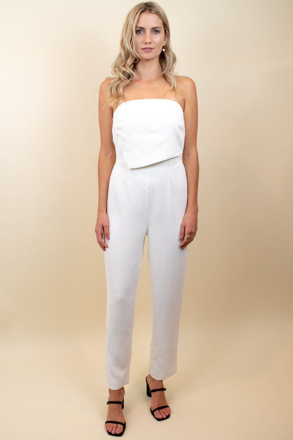 Ali & Jay Sunset & Vine Jumpsuit Cream