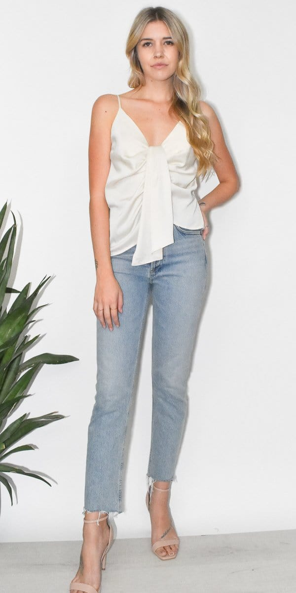 ASTR The Label Gina Top in Ivory