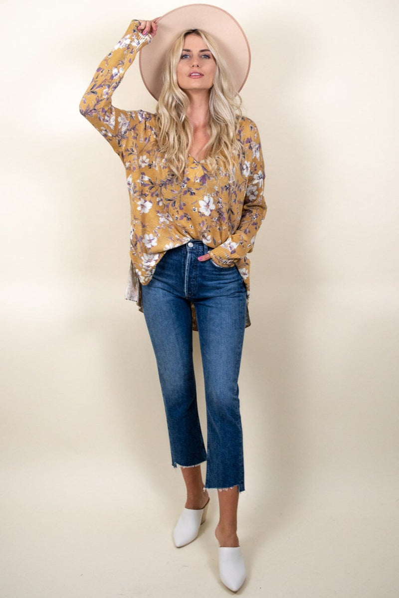 Show Me Your Mumu Cliffside Sweater Flirtin Floral