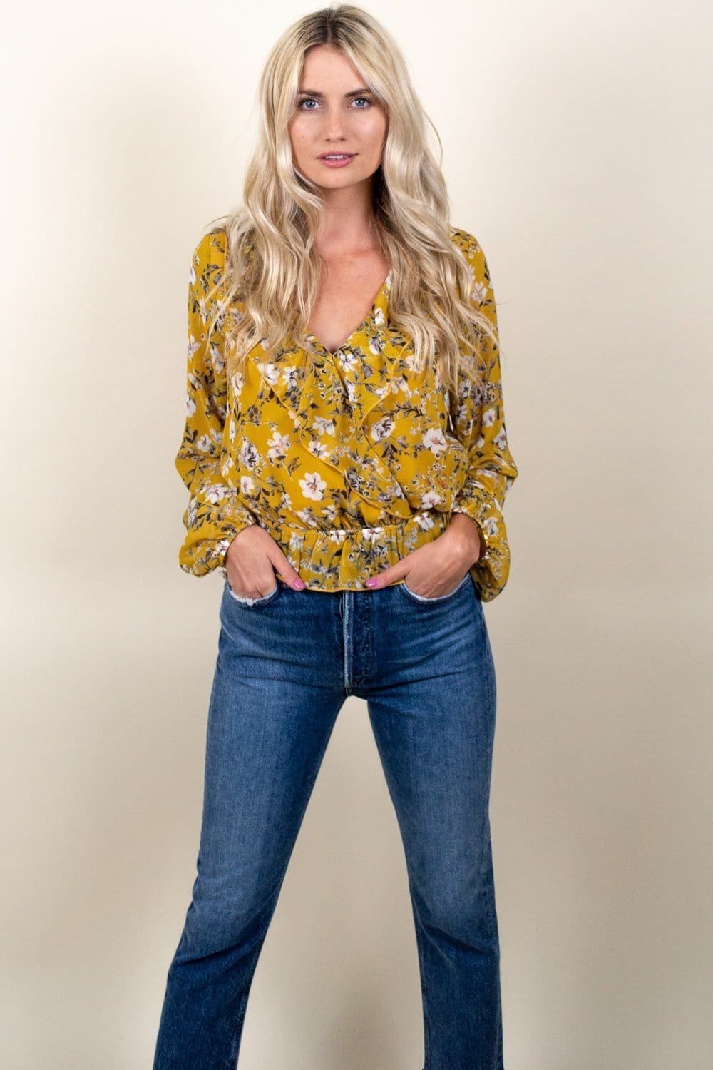Show Me Your Mumu Brewster Top Flirtin Floral