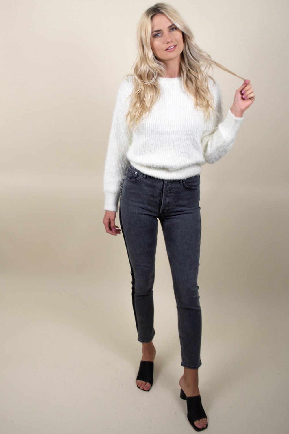 J.O.A Embellished Sweater | Wild Dove Boutique | San Diego,CA