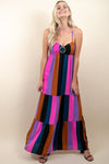 Show Me Your Mumu Juniper Maxi Mezcal Stripe