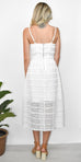 Ali & Jay Maybe Mozza Dress in White