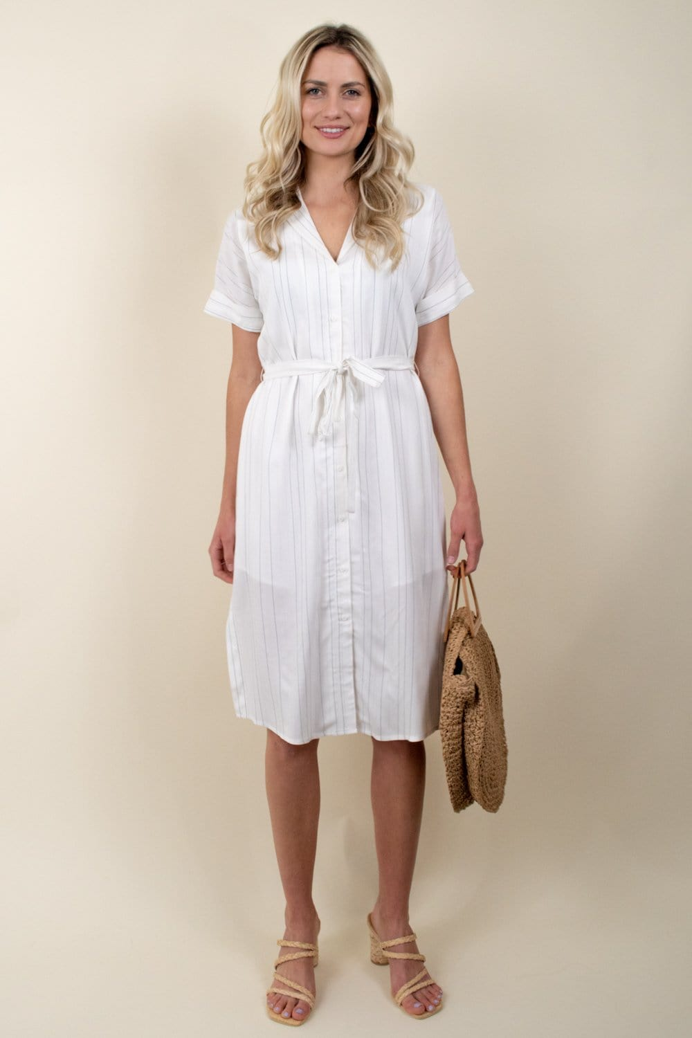 Gentle Fawn Kaysey Dress Pencil Stripe