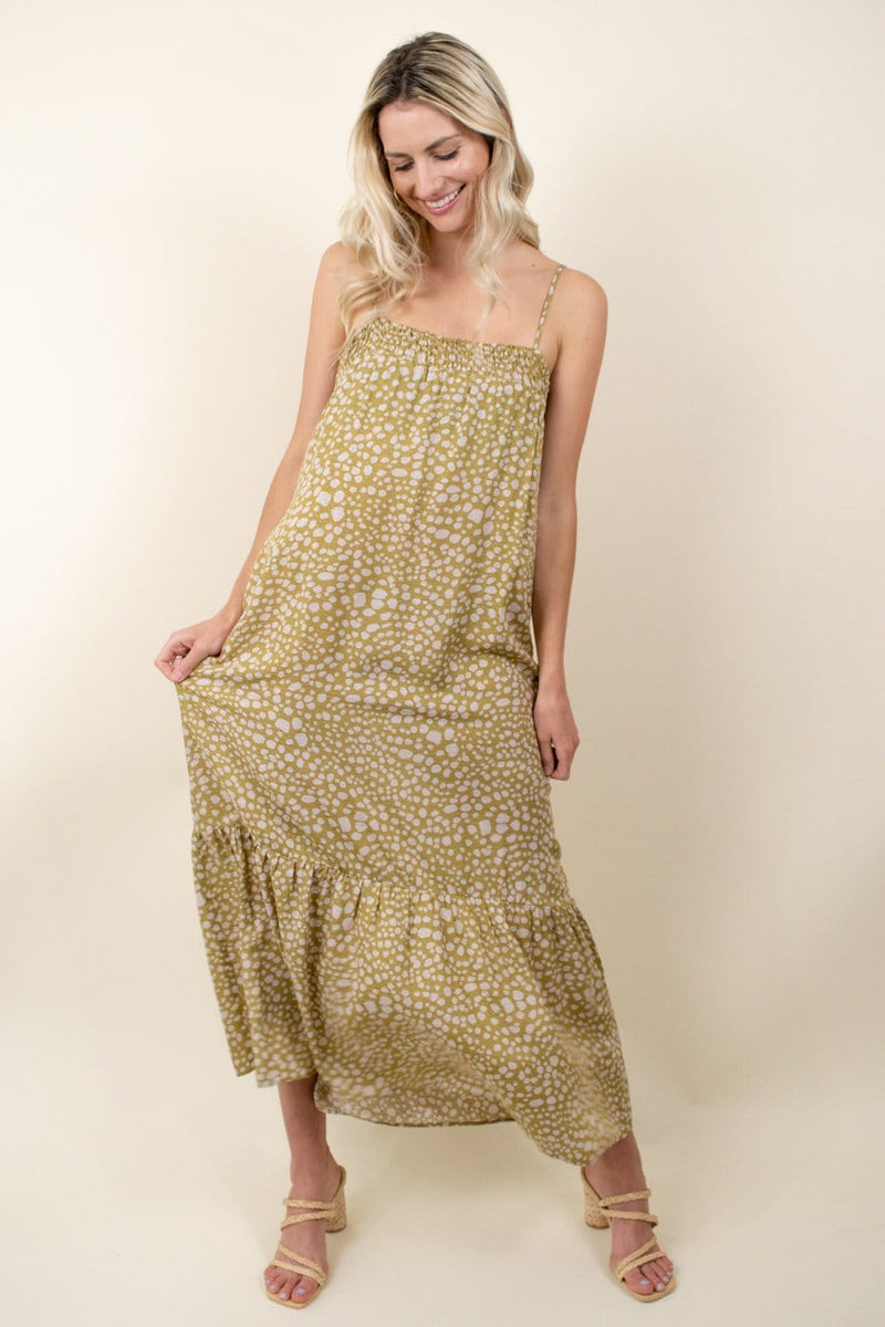 Show Me Your Mumu Anaya Maxi Dress Desert Cheetah