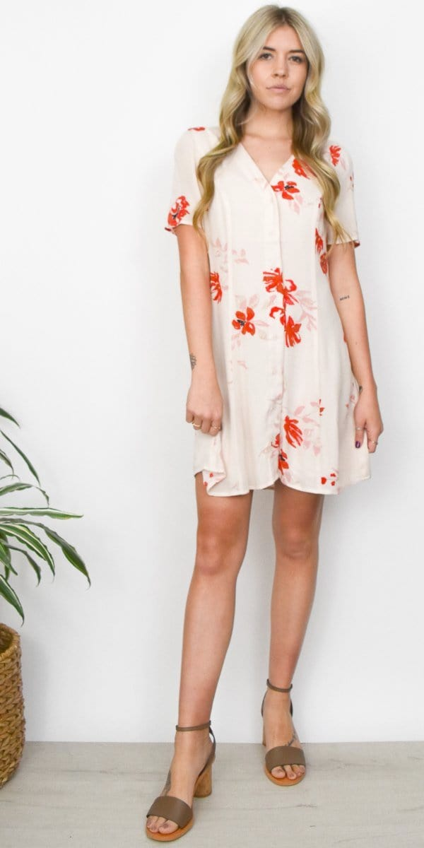 Gentle Fawn Kylie Dress in Eggnog La Casa
