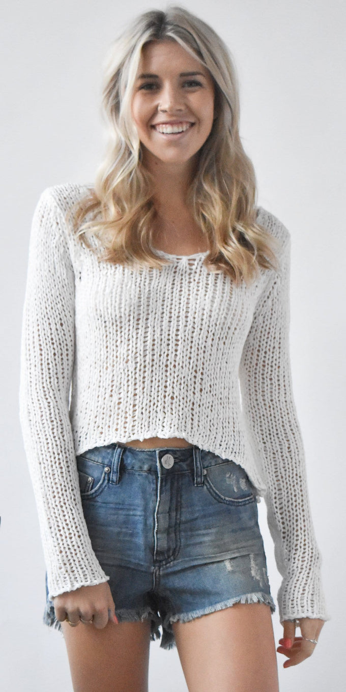 Light Weight Knit Sweater | Wild Dove Boutique