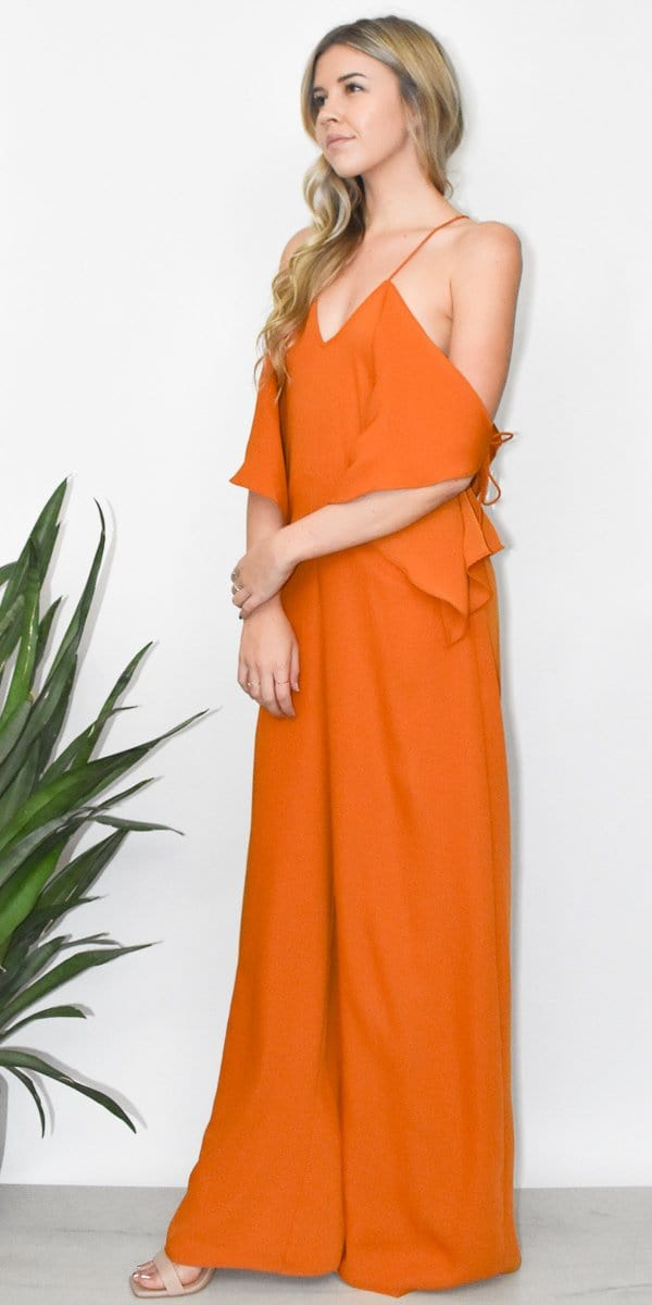 Elliatt Aurelia Jumpsuit in Amber