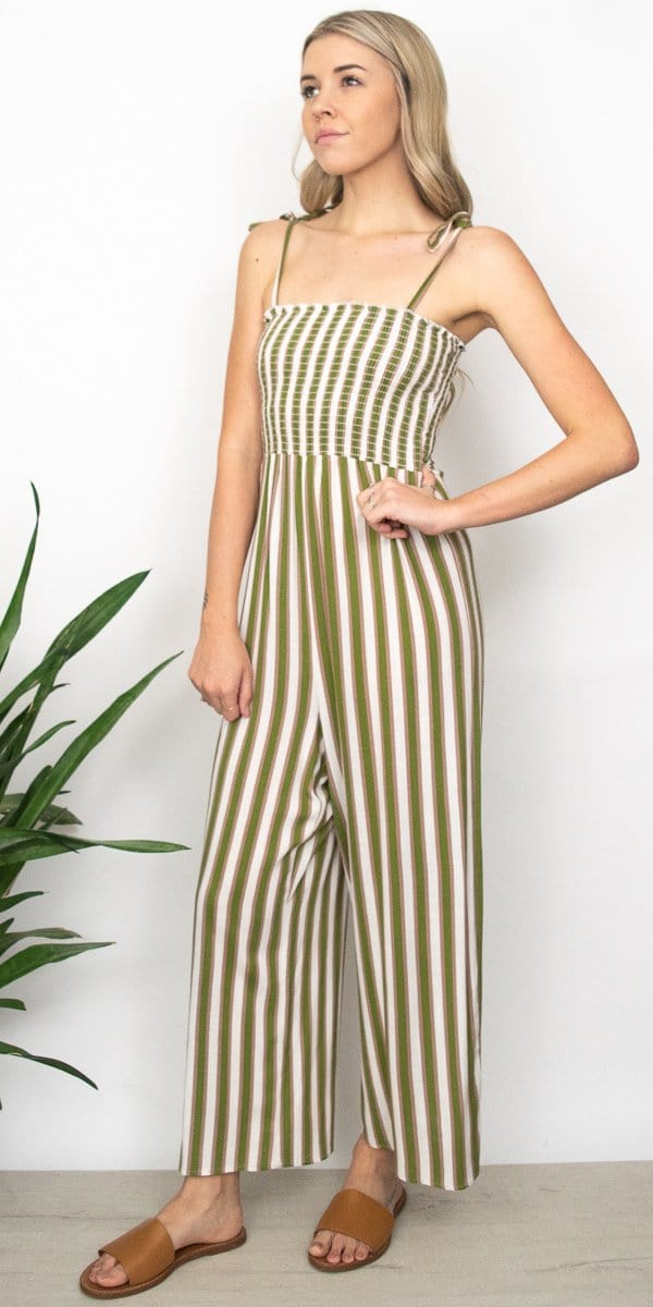 Show Me Your Mumu Parton Playsuit in Ciao Bella Stripe