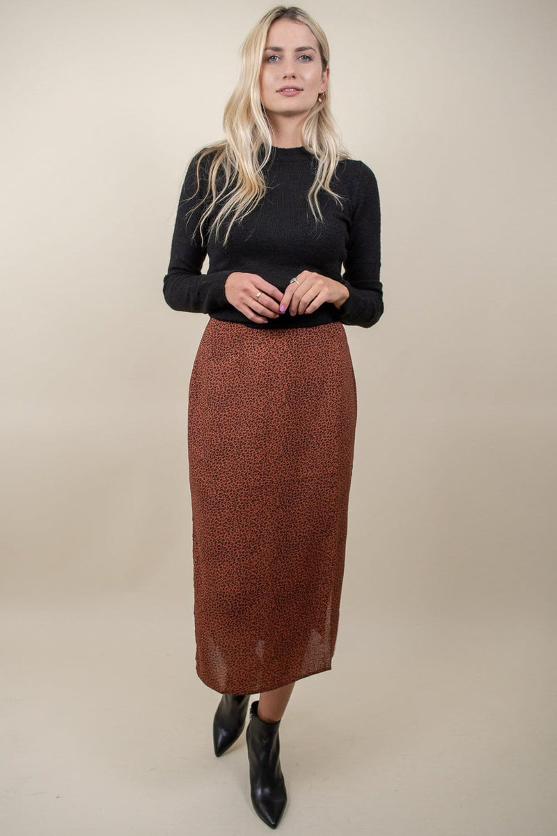 MINKPINK Wild Cat Midi Skirt