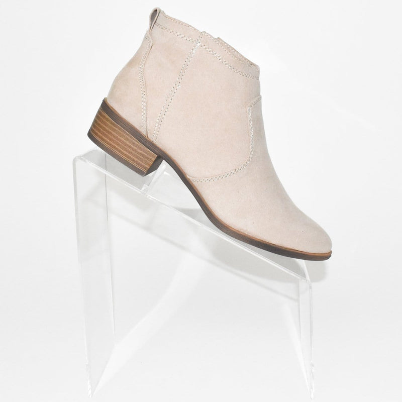 Dolce Vita Jurry Boot in Sand Stella Suede