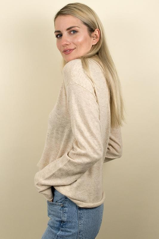 Le Rêveur Early Hours Turtleneck Sweater Oatmeal