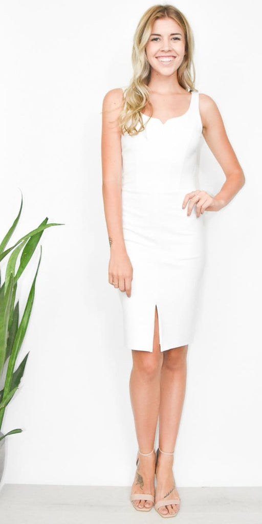 Ali & Jay Rosé All Day Sheath in White