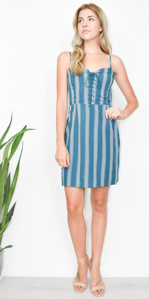 Gentle Fawn Chalsie Dress in Dragonfly Playa Stripe