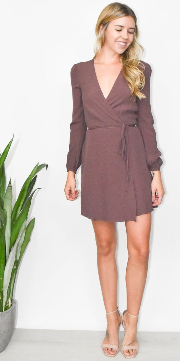 Gentle Fawn Kathleen Dress in Marron
