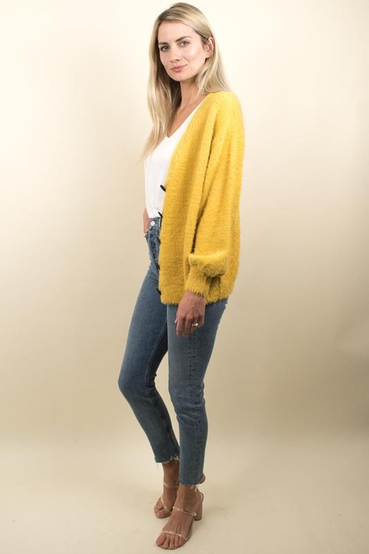 Moon River Button- Front Cardigan