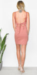 Free People Kira Bodycon Dress in Copper Rose