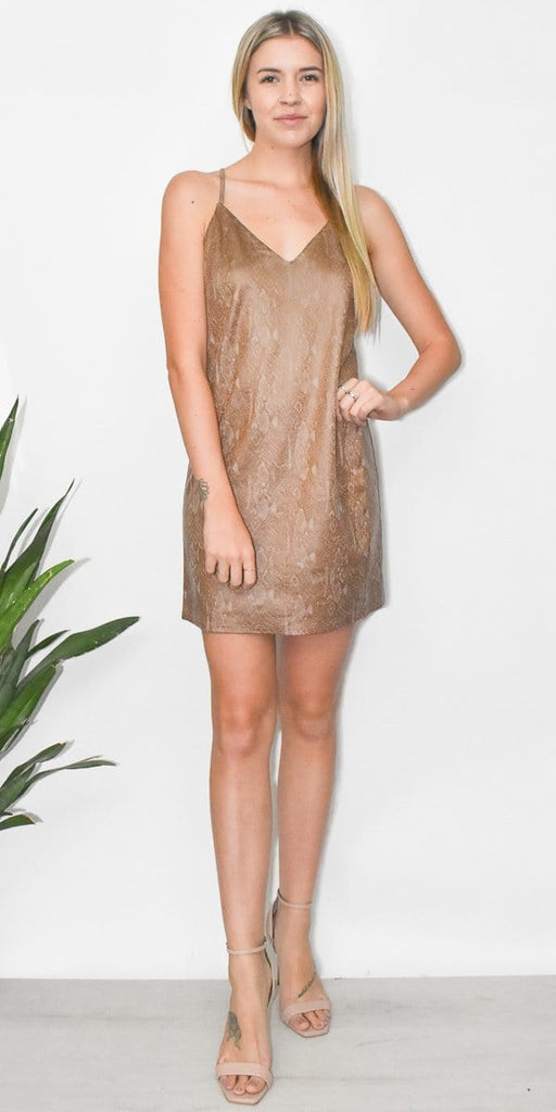 Python Mini Dress