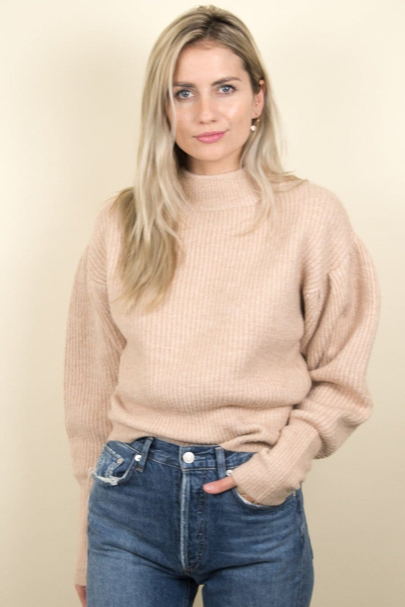 ASTR The Label Regis Sweater Oatmeal