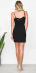 Free People Dylan Bodycon Dress in Black