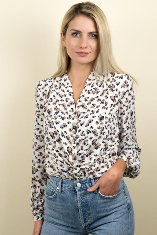 Heartloom Camille Top Leopard