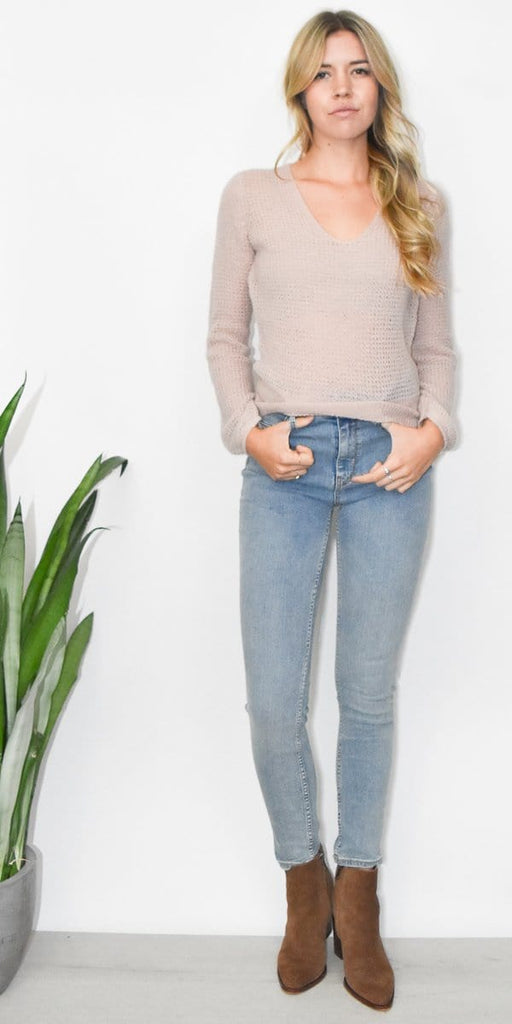 Gentle Fawn Freida Sweater in Adobe Rose Pink