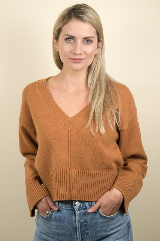 Amuse Society Keri Knit Sweater Tamarind