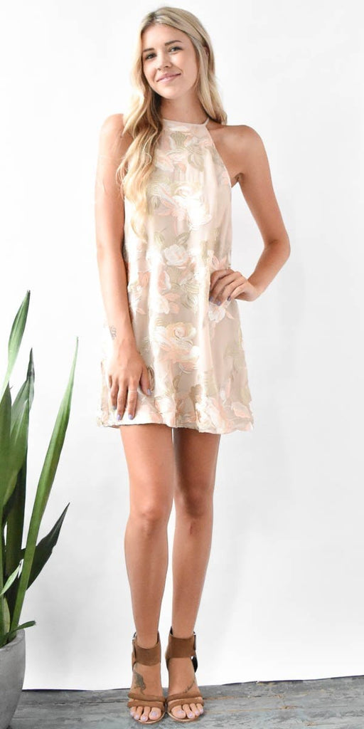 Show Me Your Mumu Gomez Mini Dress in Very Fairy Floral