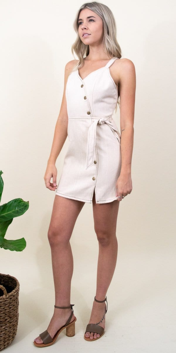 Moon River Julie Sleeveless Dress
