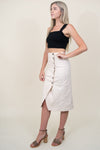 ASTR The Label Eileen Skirt in Natural