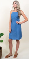 Gentle Fawn Rooney Dress in Medium Chambray Blue