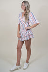 Trendy Multi Stripe Romper
