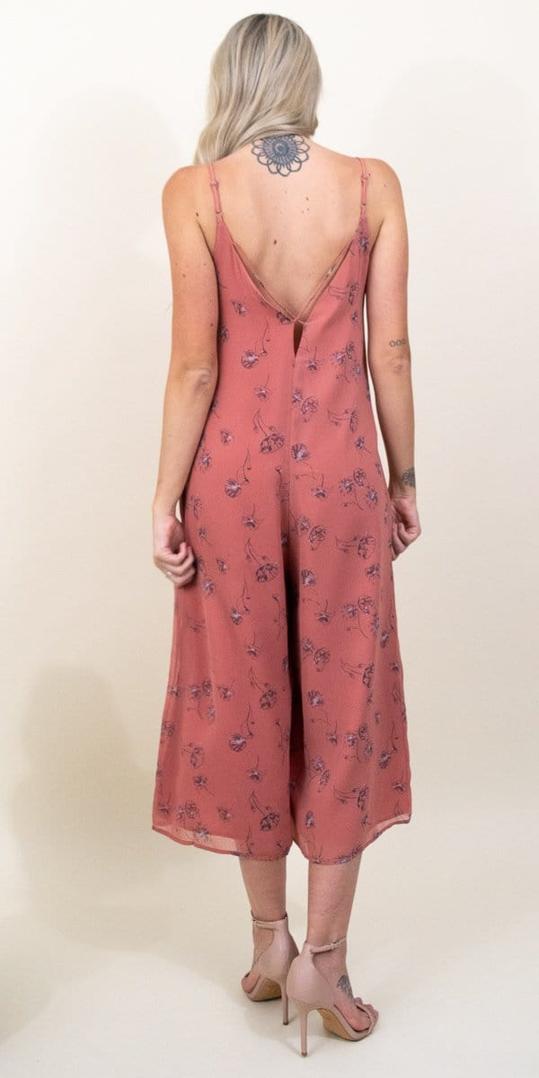 Gentle Fawn Ninette Jumpsuit in Rose Dawn Wild Poppies