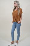 Le Reveur Easy Does It Blouse in Cathay Spice | Wild Dove Boutique | San Diego, CA