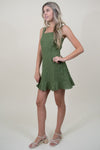 Sage the Label La Dolce Vita Dress in Olive