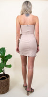 4Si3NNA Raiza Dress in Taupe