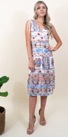 Ali & Jay La Cita Midi Dress in Fiesta Multi Embroidery