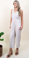 Gentle Fawn Arthur Jumpsuit in Sandy Beach Impact Stripe