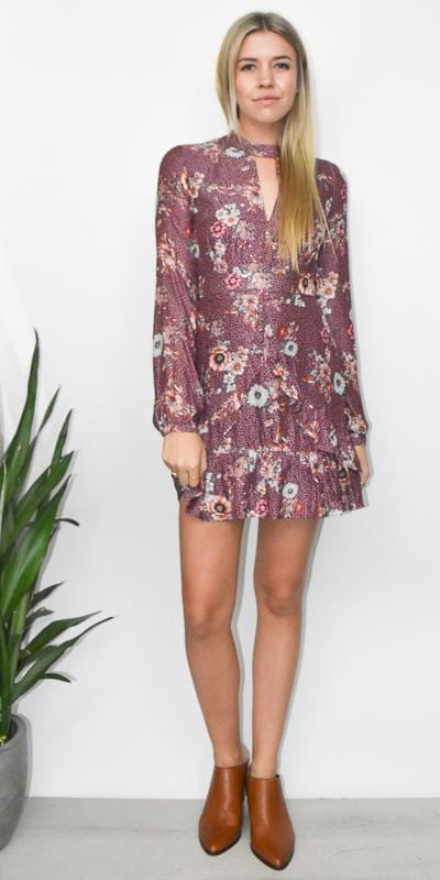 Lost + Wander Sundance Mini Dress