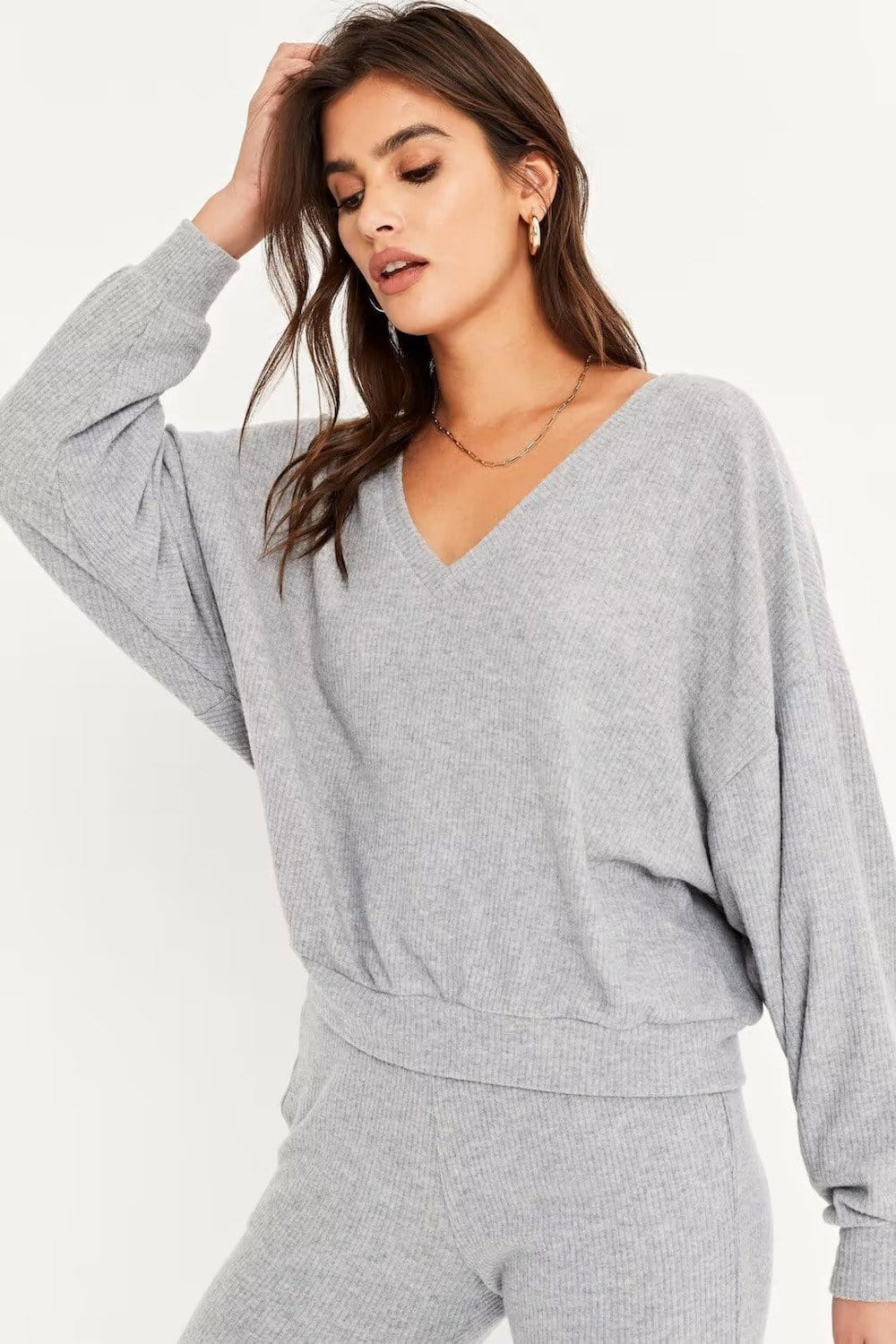 Project Social T Endless Cozy Rib V-Neck