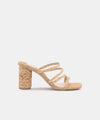 Dolce Vita Nova Heel Light Natural | Wild Dove Boutique