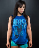 Be the Beast Muscle Tank (Blue)
