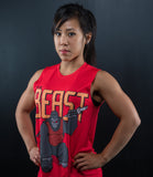 Be the Beast Muscle Tank (Red)