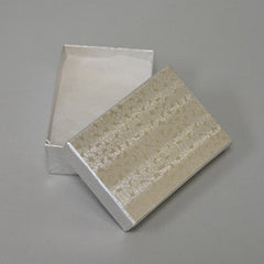Silver Cotton Filled Boxes
