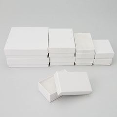 White Cotton Filled Boxes